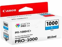 Original Tintenpatrone cyan Canon 0547C001/PFI-1000 C cyan