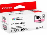 Original Tintenpatrone magenta hell Canon 0551C001/PFI-1000 PM photomagenta