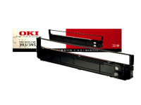 Original Nylonband schwarz OKI 09002311 schwarz