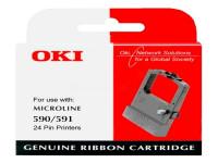 Original Nylonband schwarz OKI 09002316 schwarz