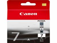Original Tintenpatrone schwarz Canon 2444B001/PGI-7 BK schwarz
