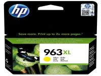 Original Tintenpatrone HP 3JA29AE/963XL gelb