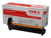 Original Drum Kit OKI 43381705 gelb