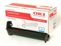 Original Drum Kit OKI 43381707 cyan