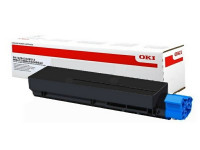 Original Toner OKI 45807106 schwarz
