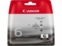 Original Tintenpatrone schwarz Canon 4705A002/BCI-6 BK schwarz