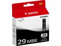 Original Tintenpatrone schwarz matt Canon 4868B001/PGI-29 MBK schwarzmatte