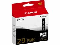 Original Tintenpatrone schwarz Canon 4869B001/PGI-29 PBK schwarz foto