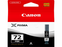 Original Tintenpatrone schwarz hell Canon 6403B001/PGI-72 PBK schwarz foto