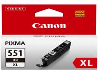 Original Tintenpatrone schwarz Canon 6443B001/551 BKXL schwarz