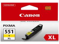 Original Tintenpatrone gelb Canon 6446B001/551 YXL gelb