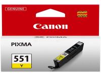 Original Tintenpatrone gelb Canon 6511B001/551 Y gelb