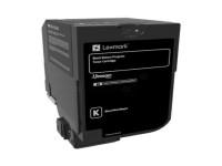 Original Toner schwarz Lexmark 74C20K0 schwarz