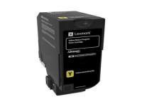 Original Toner gelb Lexmark 74C20Y0 gelb