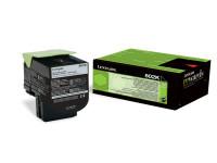 Original Toner schwarz Lexmark 80C20K0/802K schwarz