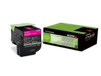 Original Toner magenta Lexmark 80C20M0/802M magenta