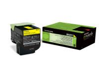 Original Toner gelb Lexmark 80C20Y0/802Y gelb