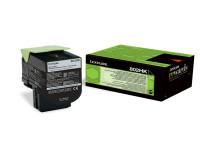 Original Toner schwarz Lexmark 80C2HK0/802HK schwarz