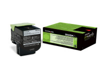 Original Toner schwarz Lexmark 80C2SK0/802SK schwarz