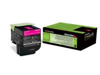 Original Toner magenta Lexmark 80C2XM0/802XM magenta