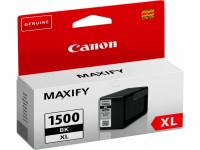 Original Tintenpatrone schwarz Canon 9182B001/PGI-1500 XLBK schwarz