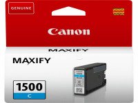 Original Tintenpatrone Canon 9229B001/PGI-1500 C cyan