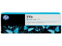 Original Tintenpatrone cyan hell HP B6Y12A/771C photocyan