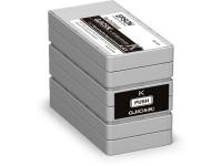 Original Tintenpatrone schwarz Epson C13S020563/GJIC5(K) schwarz