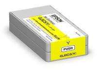 Original Tintenpatrone gelb Epson C13S020566/GJIC5(Y) gelb