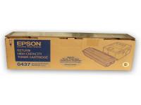 Original Toner schwarz Epson C13S050437/0437 schwarz