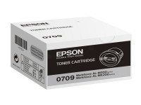 Original Toner schwarz Epson C13S050709/0709 schwarz