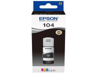 Original Tintenflasche schwarz Epson C13T00P140/104 schwarz