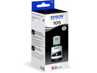 Original Tintenflasche schwarz Epson C13T00Q140/105 schwarz