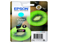 Original Tintenpatrone Epson C13T02F24010/202 cyan