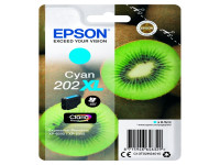 Original Tintenpatrone Epson C13T02H24010/202XL cyan