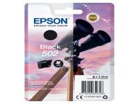 Original Tintenpatrone Epson C13T02V14010/502 schwarz