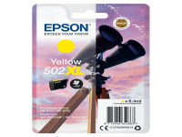 Original Tintenpatrone Epson C13T02W44010/502XL gelb