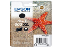 Original Tintenpatrone Epson C13T03A14010/603XL schwarz