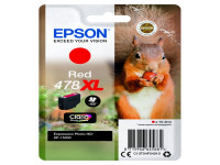 Original Tintenpatrone Epson C13T04F54010/478XL rot