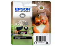 Original Tintenpatrone Epson C13T04F64010/478XL grau