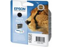 Original Tintenpatrone schwarz Epson C13T07114012/T0711 schwarz