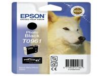 Original Tintenpatrone schwarz Epson C13T09614010/T0961 schwarz