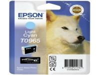 Original Tintenpatrone cyan hell Epson C13T09654010/T0965 photocyan