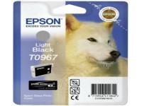 Original Tintenpatrone schwarz hell Epson C13T09674010/T0967 schwarz