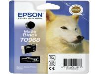 Original Tintenpatrone schwarz matt Epson C13T09684010/T0968 schwarzmatte