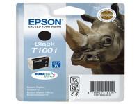 Original Tintenpatrone schwarz Epson C13T10014010/T1001 schwarz