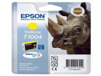 Original Tintenpatrone gelb Epson C13T10044010/T1004 gelb