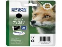 Original Tintenpatrone schwarz Epson C13T12814012/T1281 schwarz