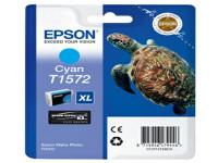 Original Tintenpatrone cyan Epson C13T15724010/T1572 cyan