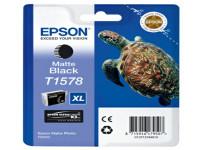 Original Tintenpatrone schwarz matt Epson C13T15784010/T1578 schwarzmatte